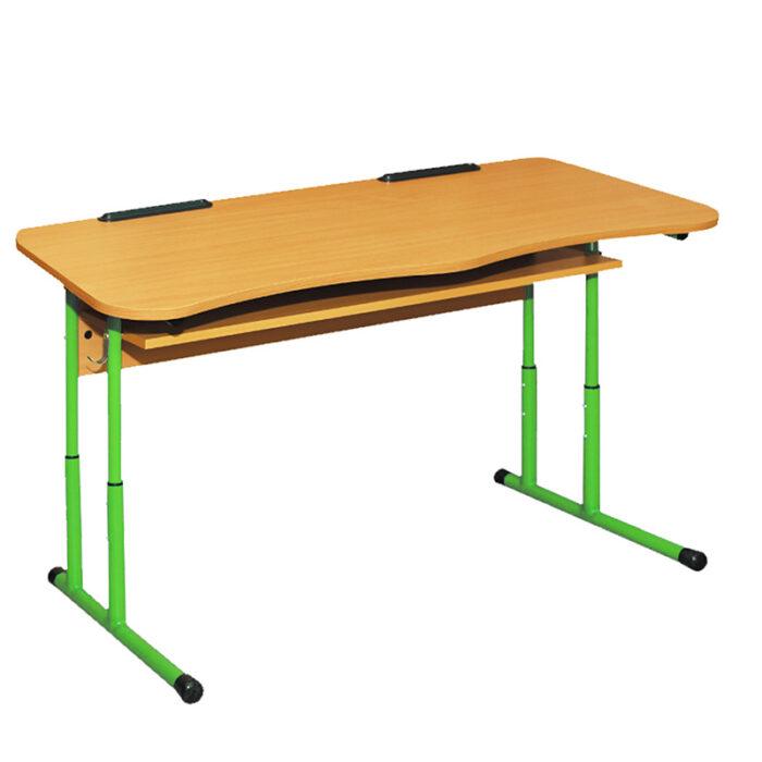 0140 2-kohaline reguleeritav kaldega koolilaud