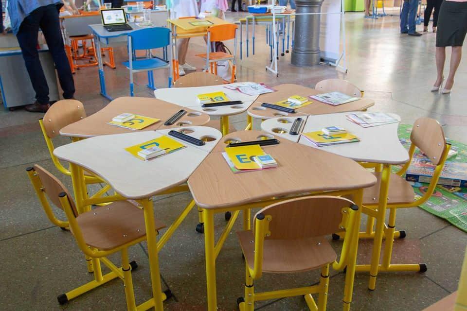 kokkupandavad koolilauad ringis