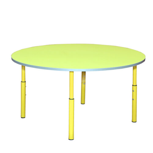 22776 lasteaia laud ümmargune reguleeritava kõrgusega