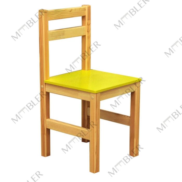 23204 lasteaia tool täispuidust MDF istmega, kõrgus N3