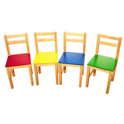23204 lasteaia toolid täispuidust MDF istmega kõrgus N3