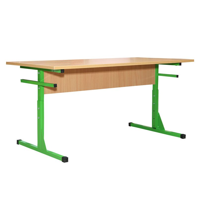 24025PL plastikust kattega 4- kohaline kooli söökla lauud reguleeritava kõrgusega N4-6