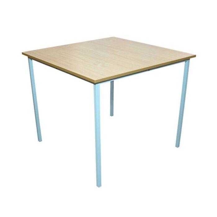 35969 4-kohaline ruudukujuline kooli söökla laud, kõrgus N6