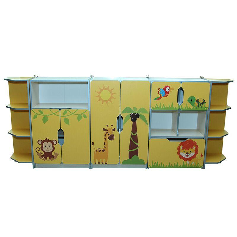 5018 lasteaia laste seinamoodul animals nr 7-3