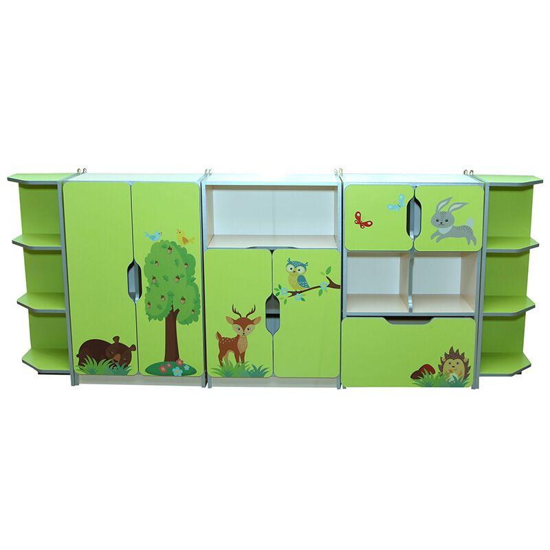 5018 lasteaia laste seinamoodul animals nr 7-4